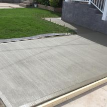 Broom Brushed Concrete